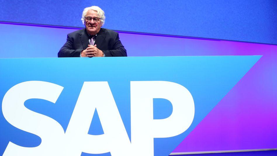 SAP-Aufsichtsratschef Hasso Plattner