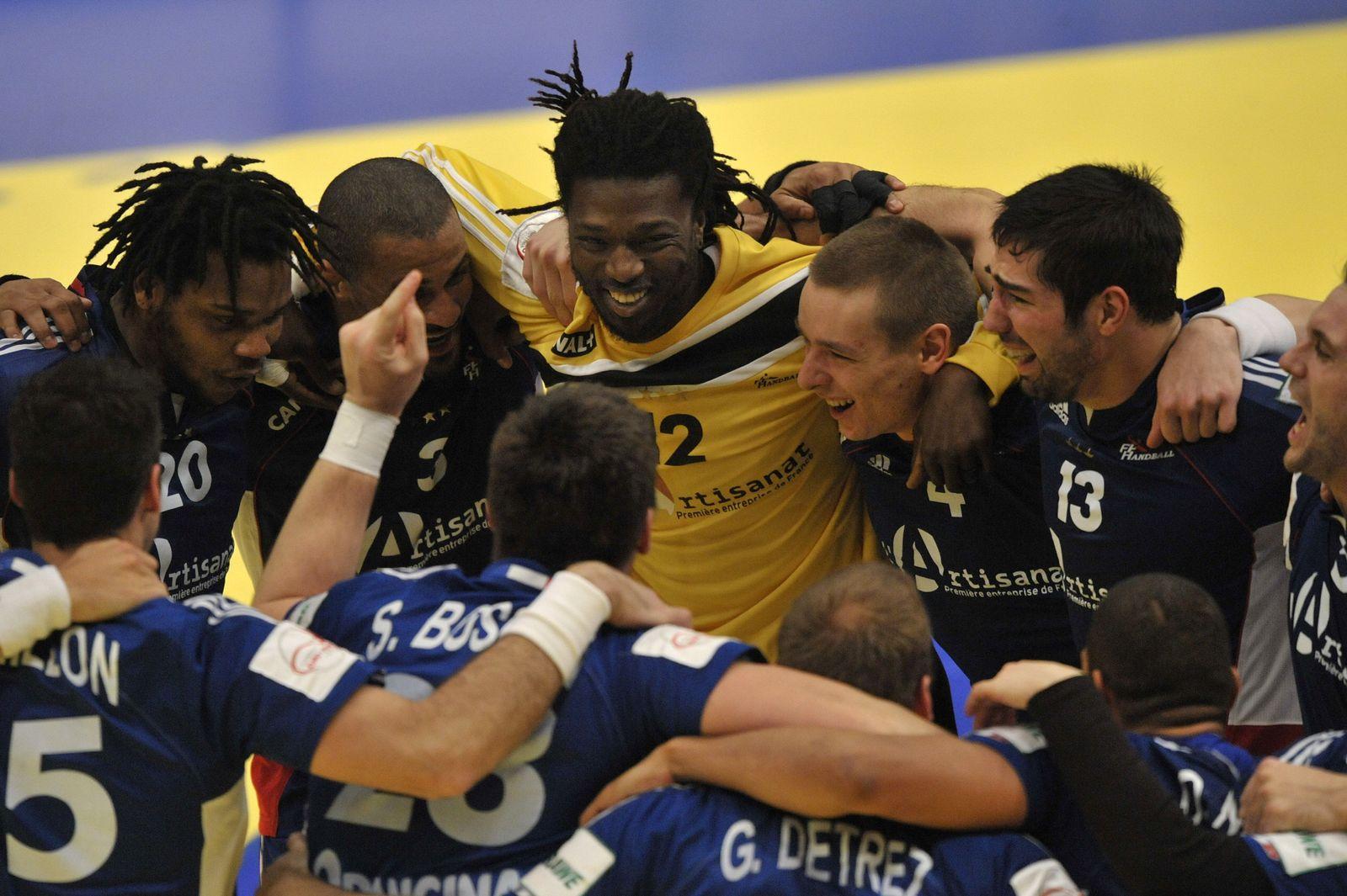 HANDBALL-EURO-2010-MEN-CRO-FRA handball