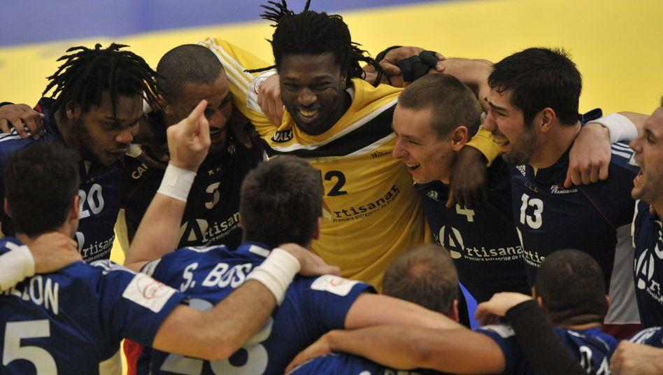 Französische Handballer: Olympiasieger, Weltmeister, Europameister