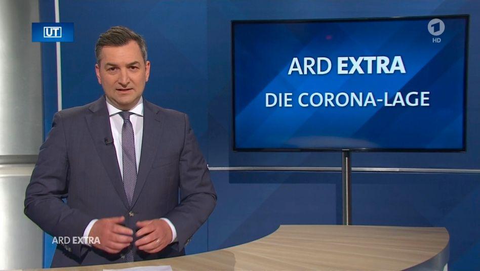 """""""ARD Extra"""" zu Corona: künftig anlassbezogen"""