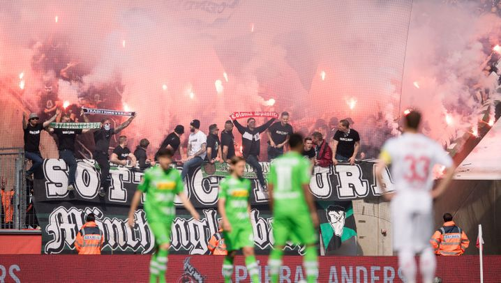Fußball-Bundesliga: Derbysieger Stindl, Leipzig in letzter Minute
