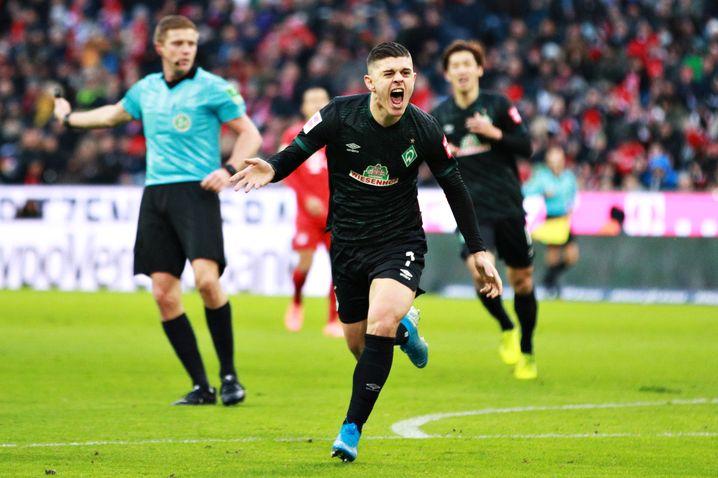 In der Hinrunde gelangen Milot Rashica elf Torbeteiligungen in 15 Pflichtspieleinsätzen für Werder