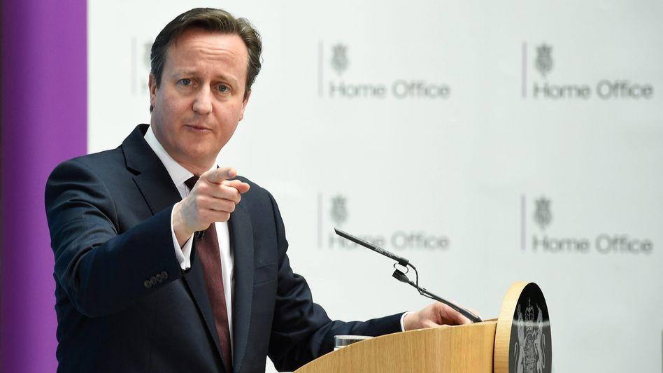 Britischer Premier Cameron: Lebendige Demokratie als Vorbild für Europa