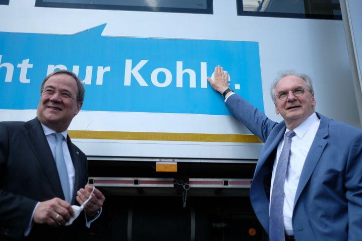 CDU-Chef Armin Laschet, Ministerpräsident Reiner Haseloff