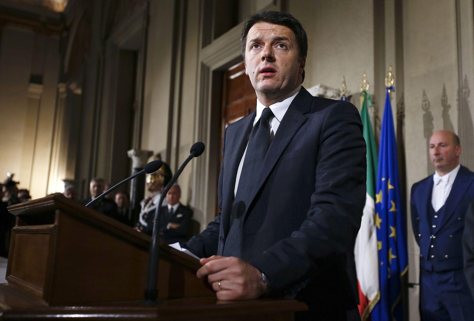 Italien / Renzi