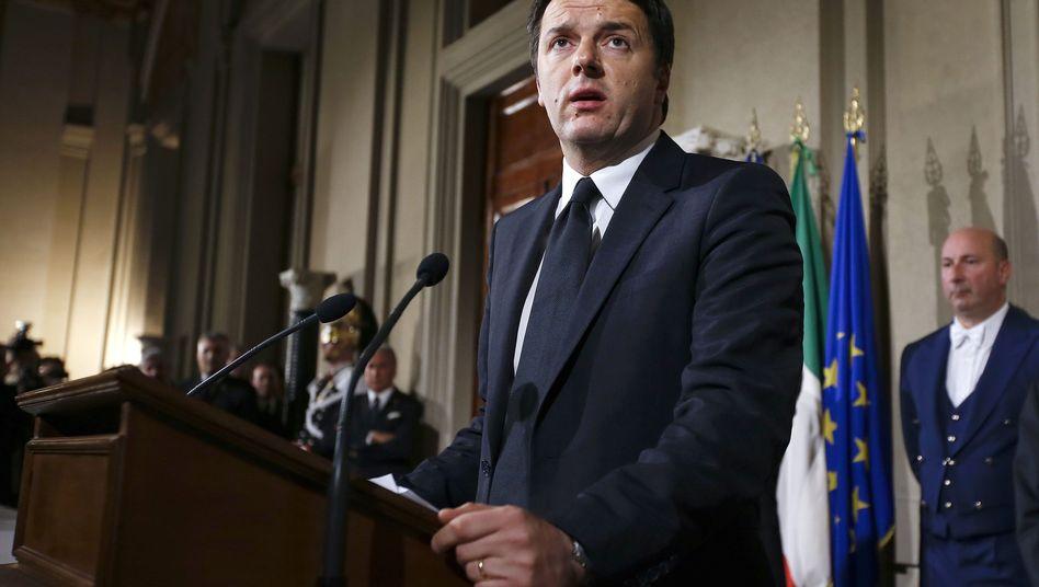"""Neuer Premier Renzi: """"Verantwortung und Brisanz"""""""