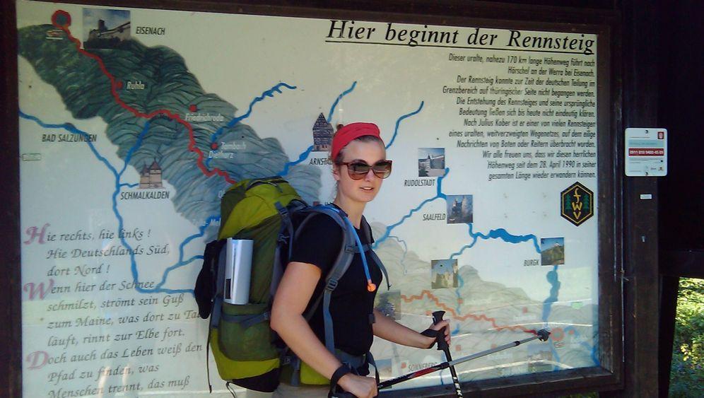 "Wessis im Osten, Etappe 7: ""Achtung, Wanderer kreuzen!"""