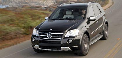 Mercedes M63 AMG: CO2-Emission 392 Gramm je Kilometer.