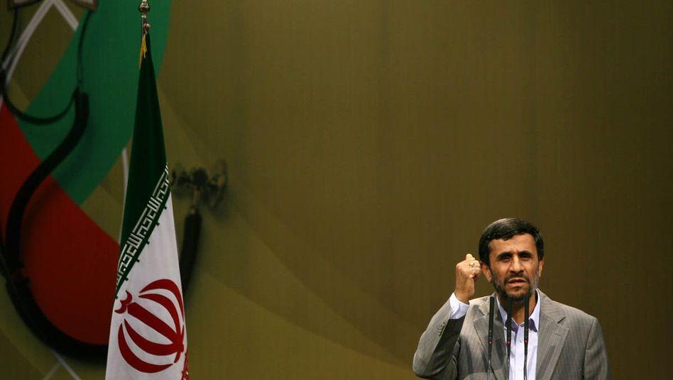 Iranischer Präsident Ahmadinedschad: Scharfe Kritik an Erzfeind Israel