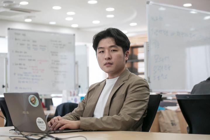 """Coronaita-Betreiber Kim Hak-joon: """"Viele Menschen sind besorgt. Sie versuchen, ruhig zu bleiben, aber sie wollen auch informiert werden"""""""