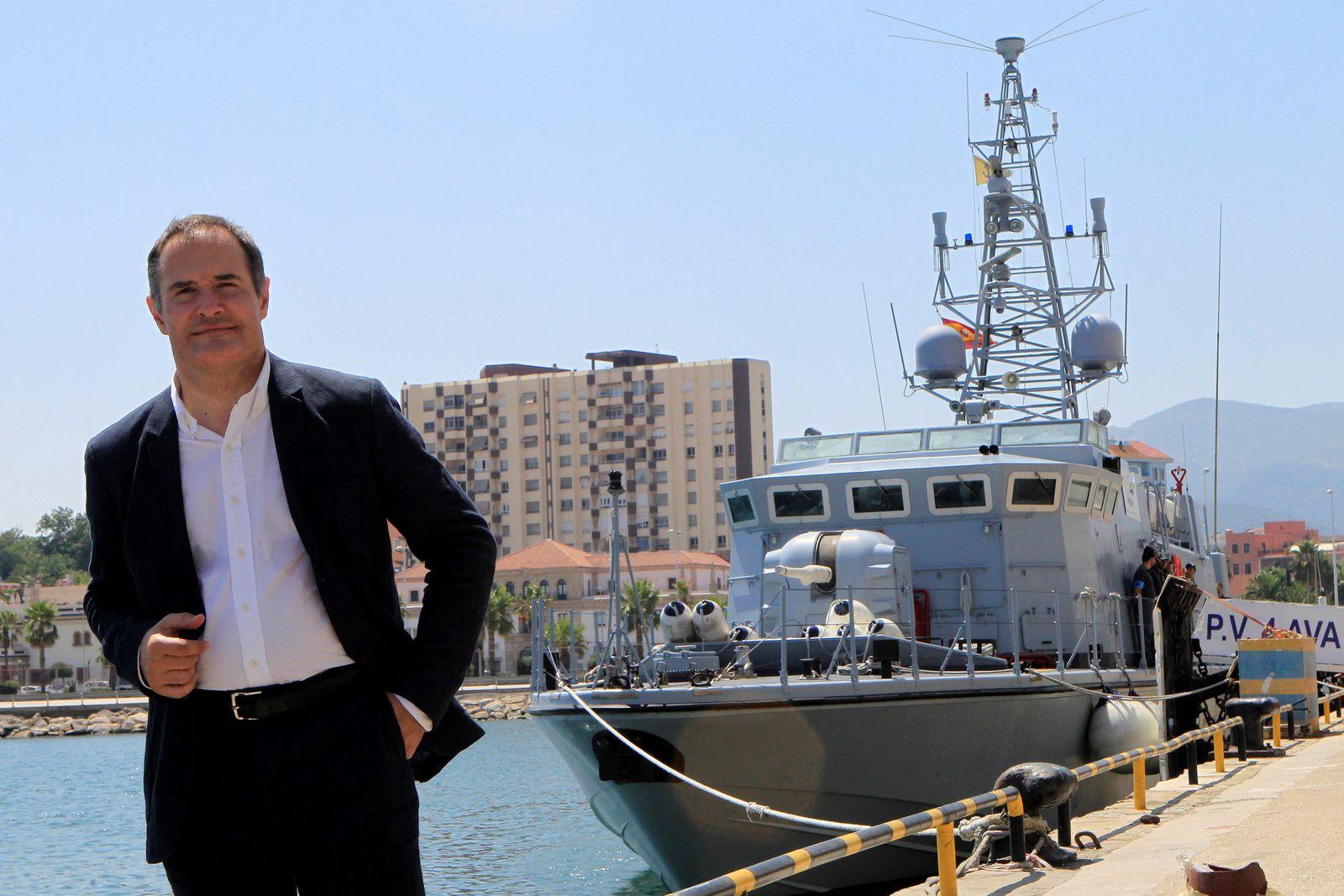 Frontex director visits