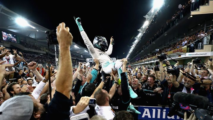 Weltmeister Rosberg: Mit 14 Jahren Anlauf