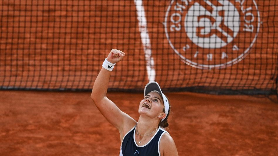 Barbora Krejcikova nach der Nervenschlacht gegen Maria Sakkari