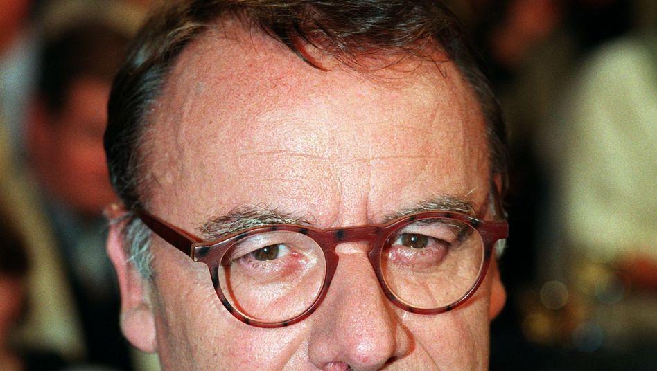 Hermann L. Gremliza in einer SFB-Talkshow von 1997
