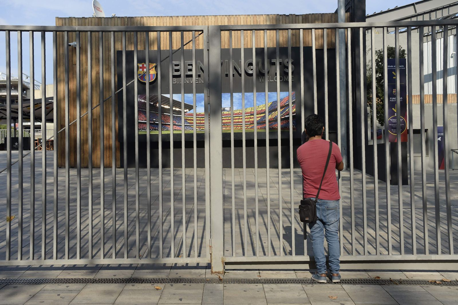 FBL-BARCELONA-SPAIN-CATALONIA-POLITICS-INDEPENDENCE-STRIKE