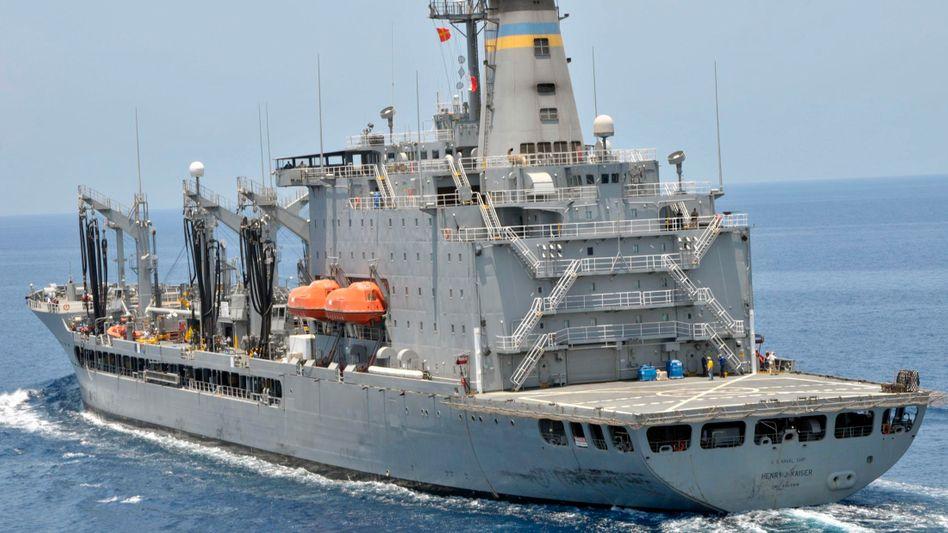 """US-Schiff im Golf von Aden (Archivbild): """"Wir haben ein Video von deren Video"""""""