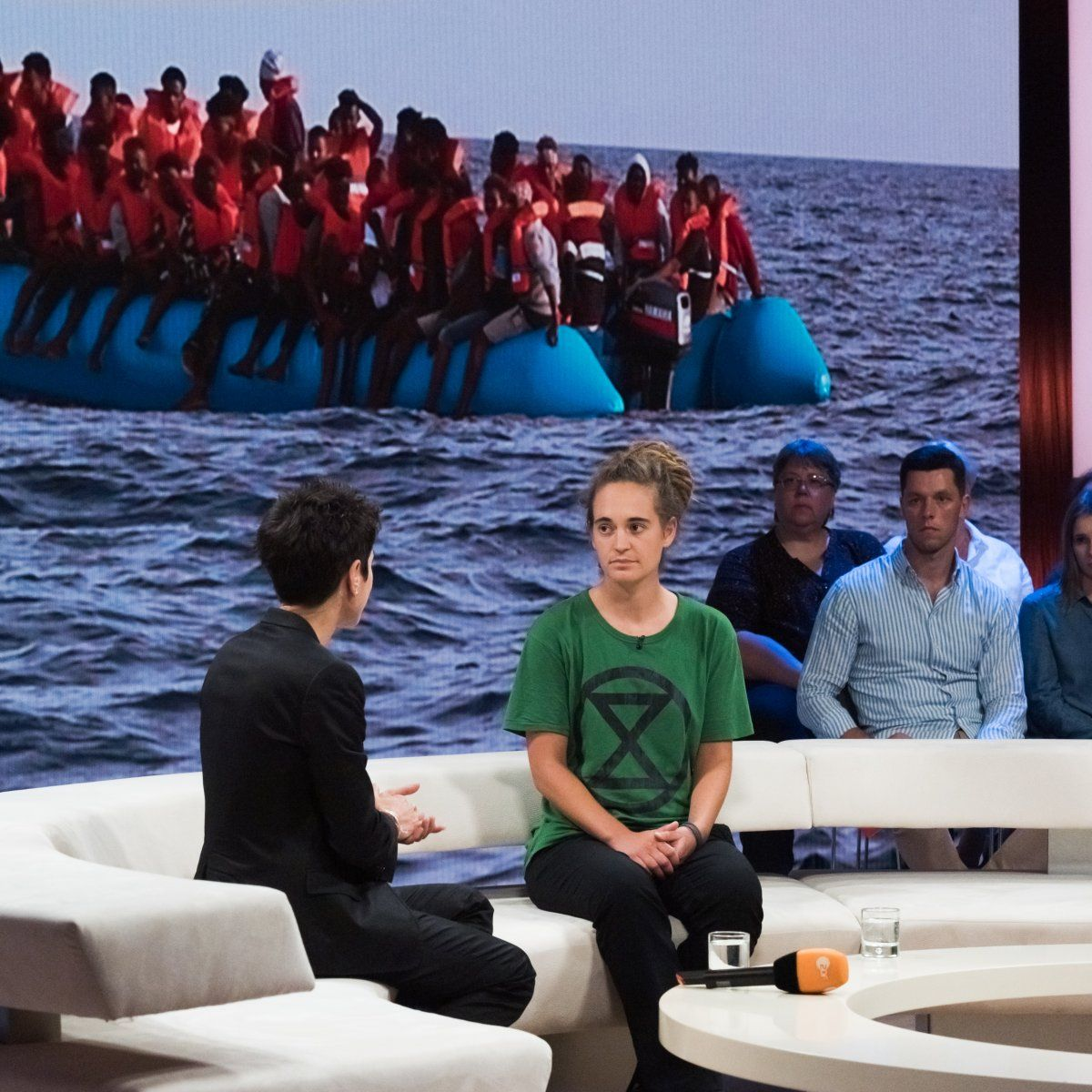 ZDF Dunja Hayali Rackete