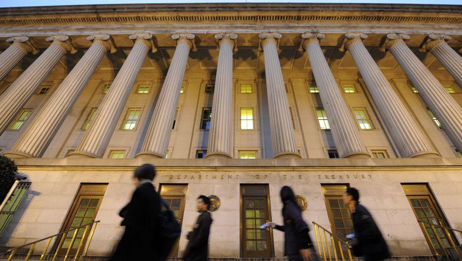 """US-Finanzministerium: Nur durch """"außergewöhnliche Maßnahmen"""" flüssig"""