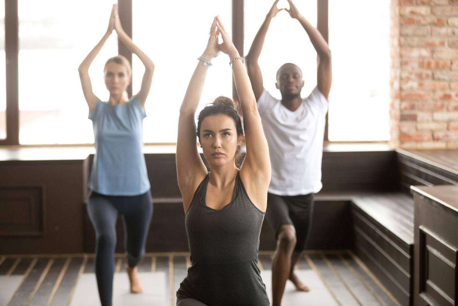 Hirnforschung/ Yoga/ der Kämpfer