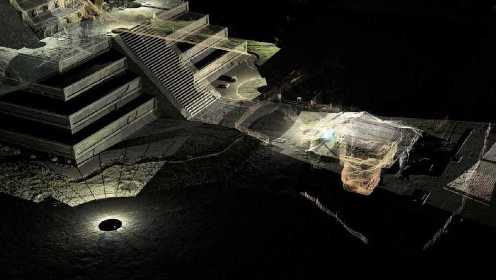 Ruinenstadt Teotihuacán: Geheimnisvoller Tunnel