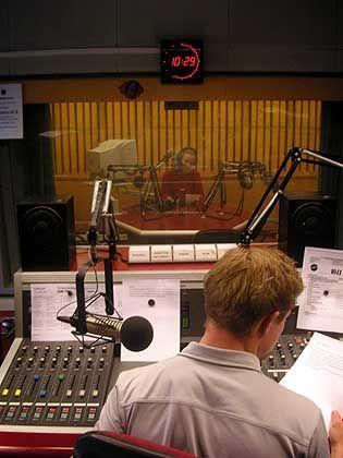 Radio Mephisto: Blick ins Studio