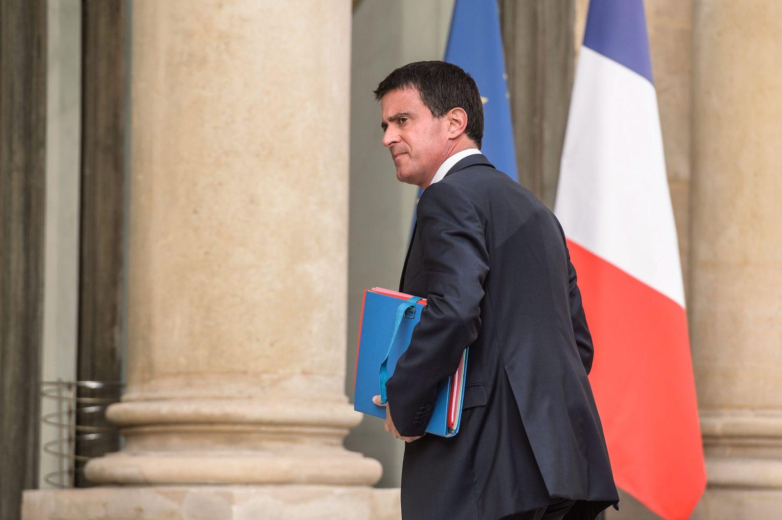 Frankreich Valls