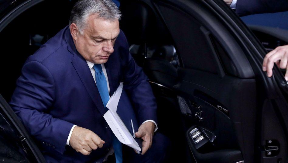 """Viktor Orbán (im Oktober 2020): """"Gelegenheiten für politischen Missbrauch"""""""