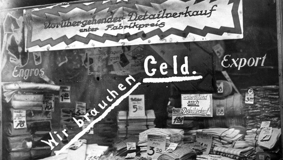 Hyperinflation in Deutschland (1923): Der Vergleich zu heute hinkt