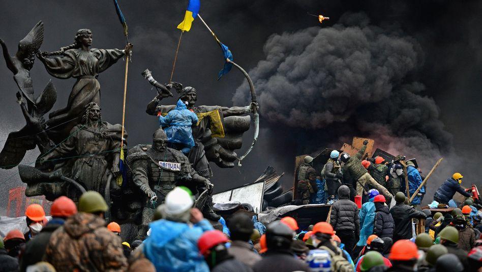 """Proteste auf dem Maidan in Kiew (Februar 2014): """"Antirussische Tendenzen"""" der ARD?"""