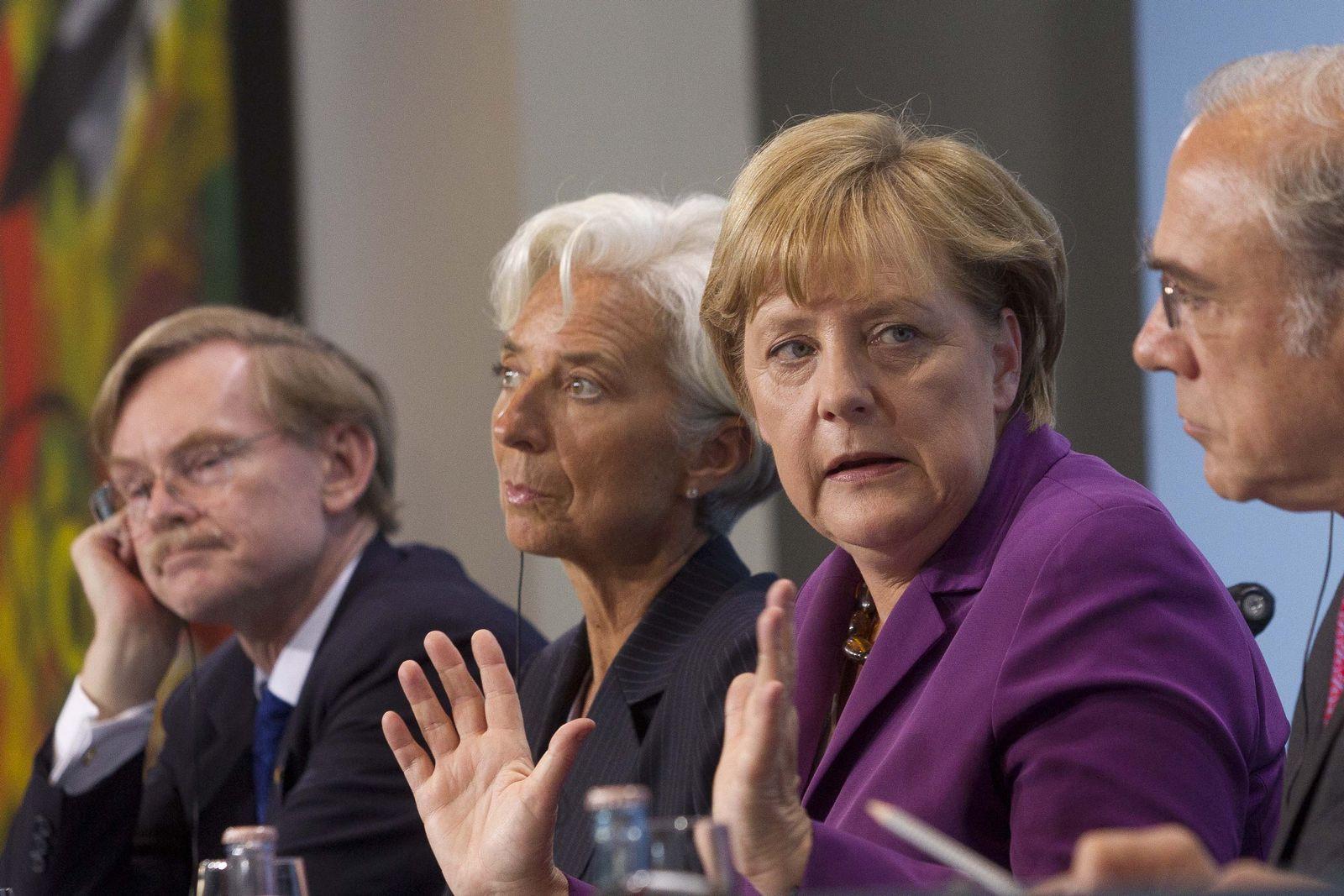 Merkel / Lagarde