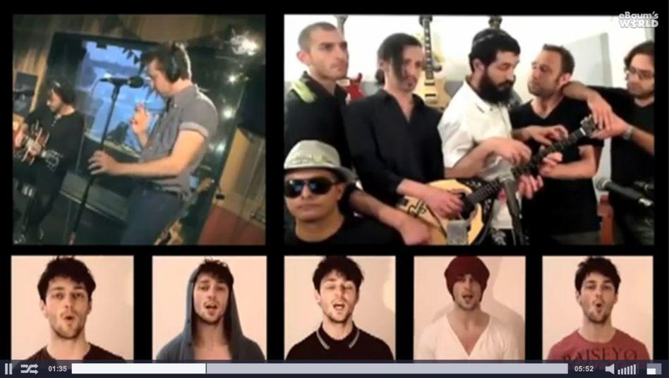 Gotye-Video Somebodies (Screenshot): Viel mögen es, aber nicht alle dürfen zuschauen