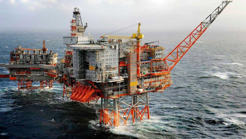 BP-Plattform vor Norwegen: Vollständige Räumung angeordnet