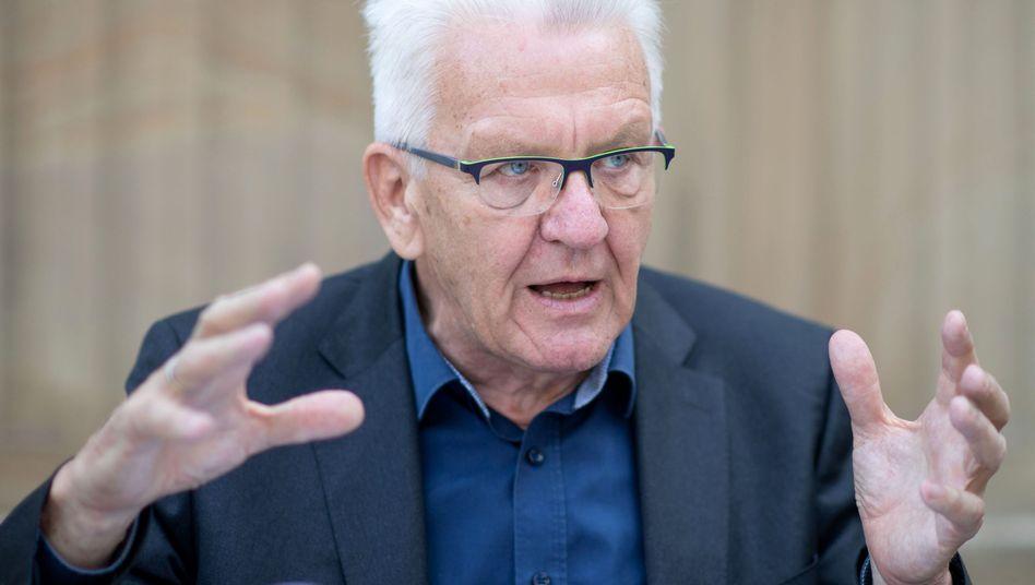 """Winfried Kretschmann: """"Ich halte von dieser ganzen Moralisiererei wenig"""""""