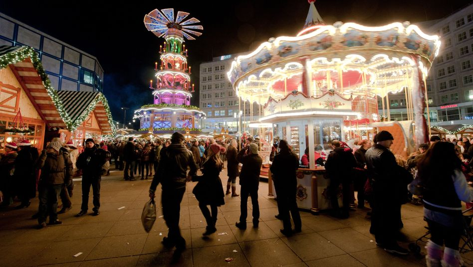 """An unidentified man is believed to have offered shots laced with """"liquid ecstasy"""" to visitors at major Berlin Christmas markets in recent days."""