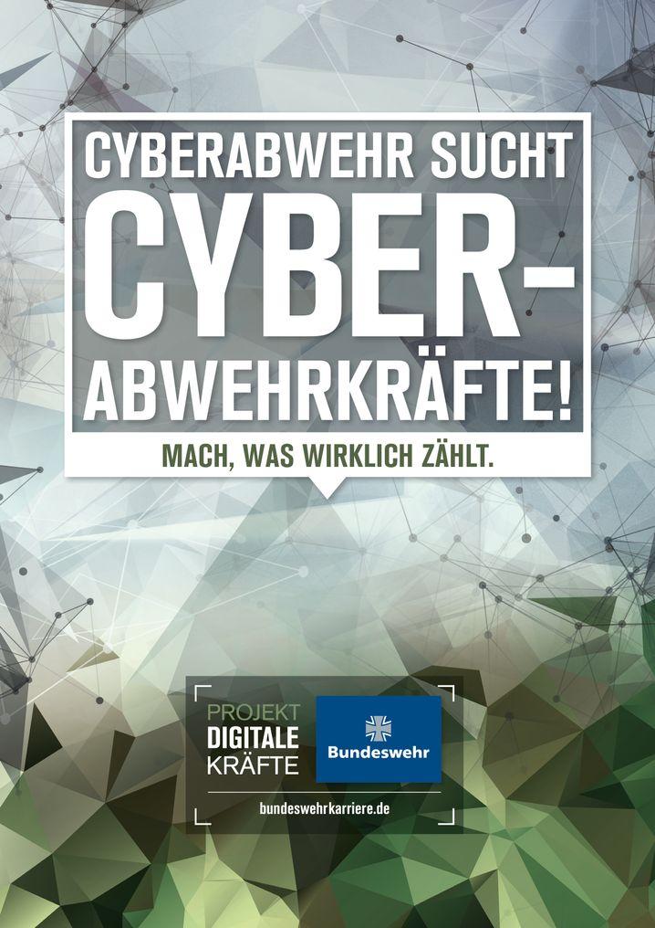 """Schleppende Rekrutierung: Werbeanzeigen der Bundeswehr für """"Cyberabwehrkräfte"""""""