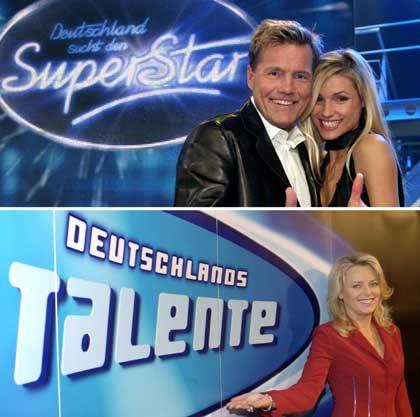 Umstrittene Logos: RTL sucht den Superstar, der NDR Talente