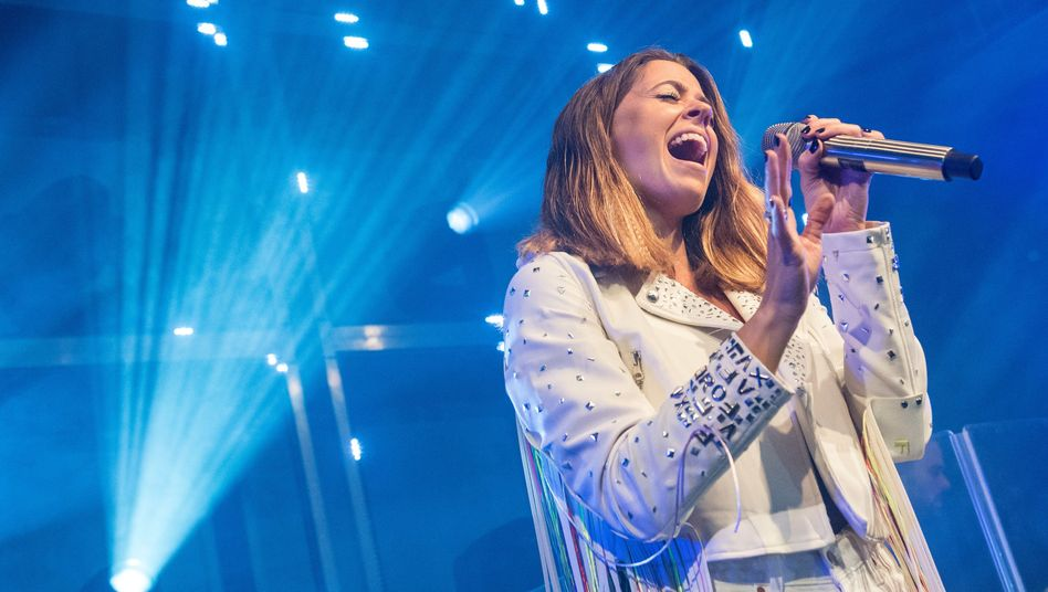 Zurück auf der Bühne: Sängerin Vanessa Mai