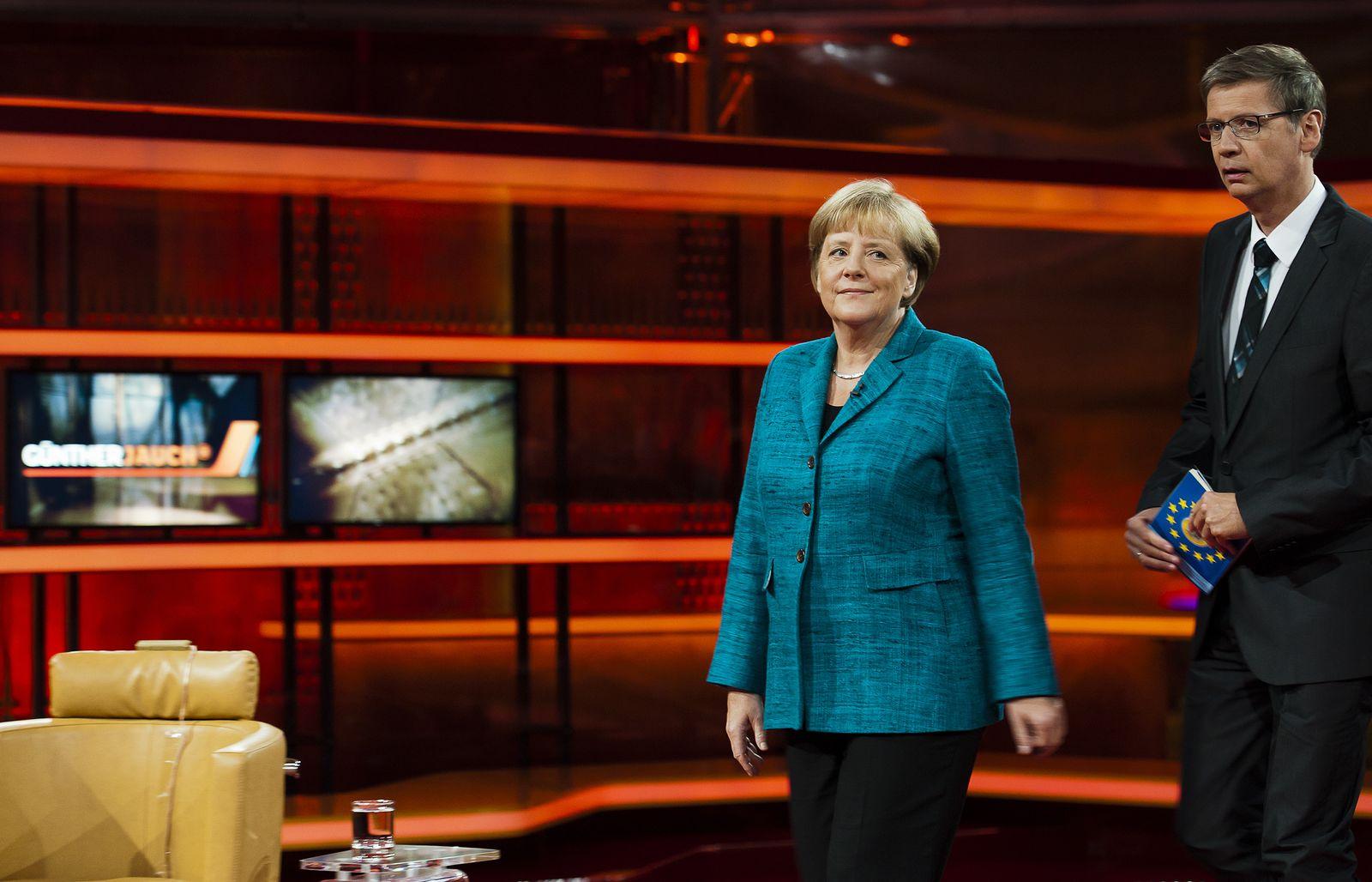 NICHT VERWENDEN Fernsehen/Medien Merkel Jauch