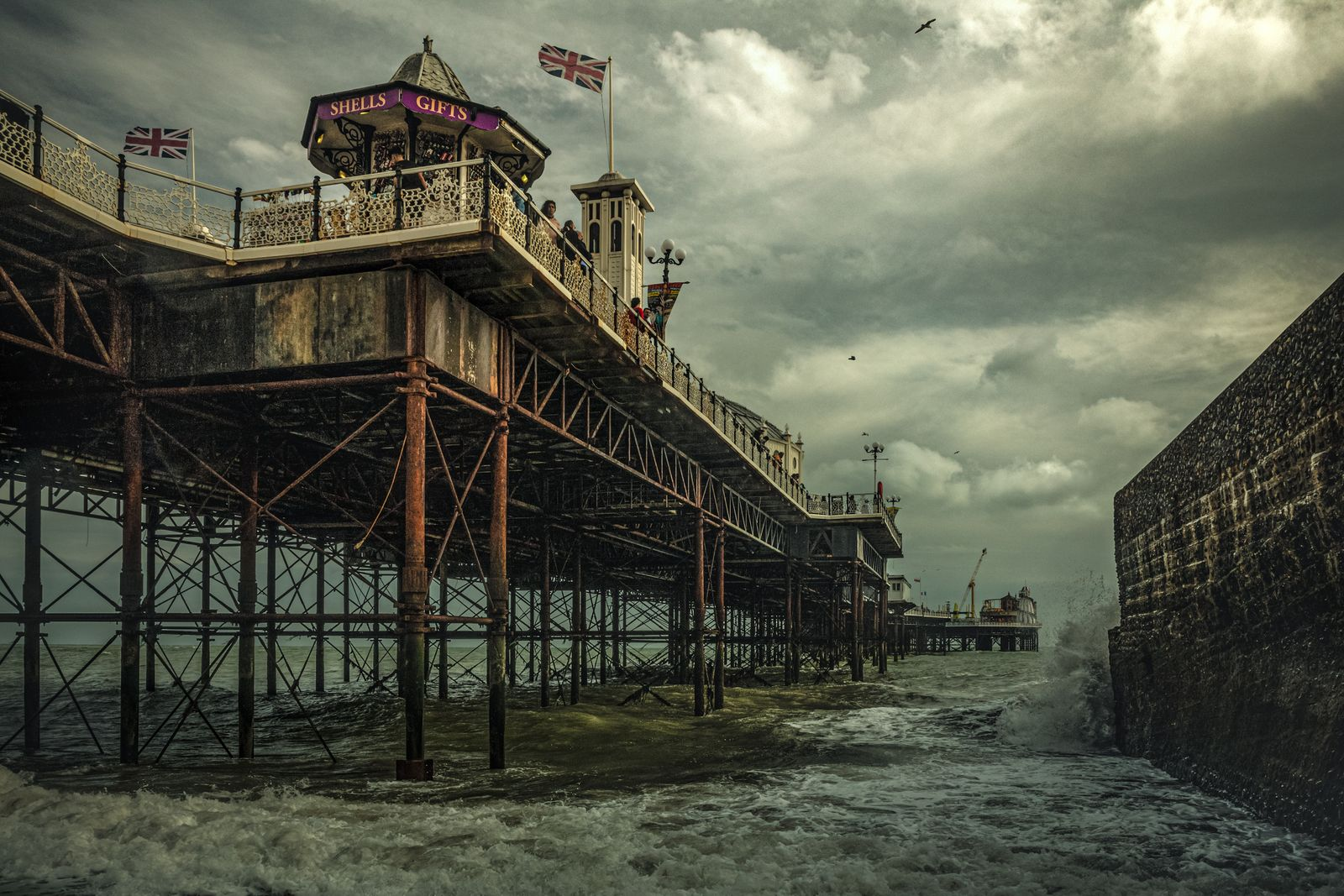 1 - Overall Winner - Michael Marsh - The Brighton Palace Pier - High