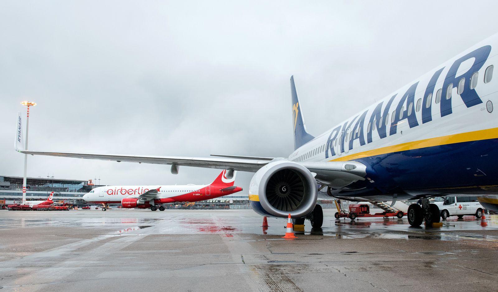 Ryanair / Air Berlin / airberlin