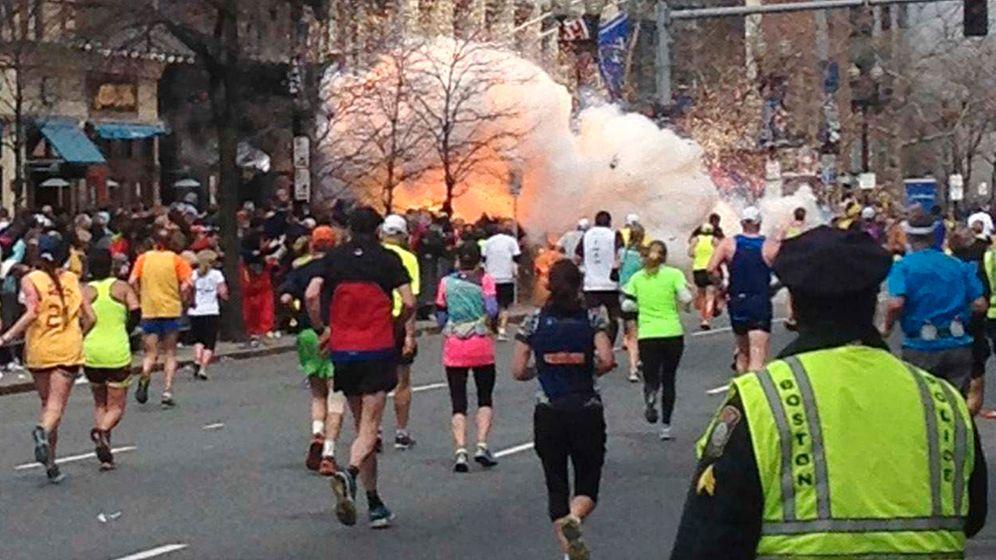 Anschläge in Boston: Selbstlose Helfer am Kriegsschauplatz