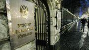 Russische Diplomaten besuchten mutmaßlichen Täter im Gefängnis