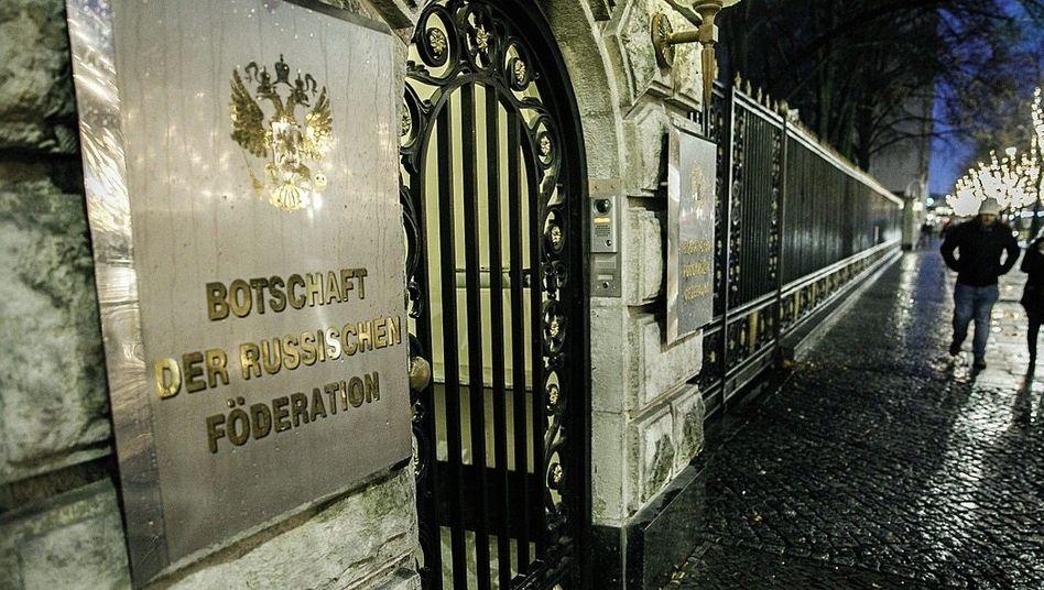 Russische Botschaft in Berlin (Archivfoto)