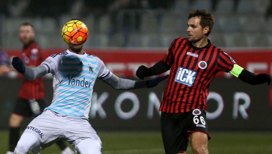 Spieler von Gençlerbirligi (rechts): Schon wieder ein neuer Trainer