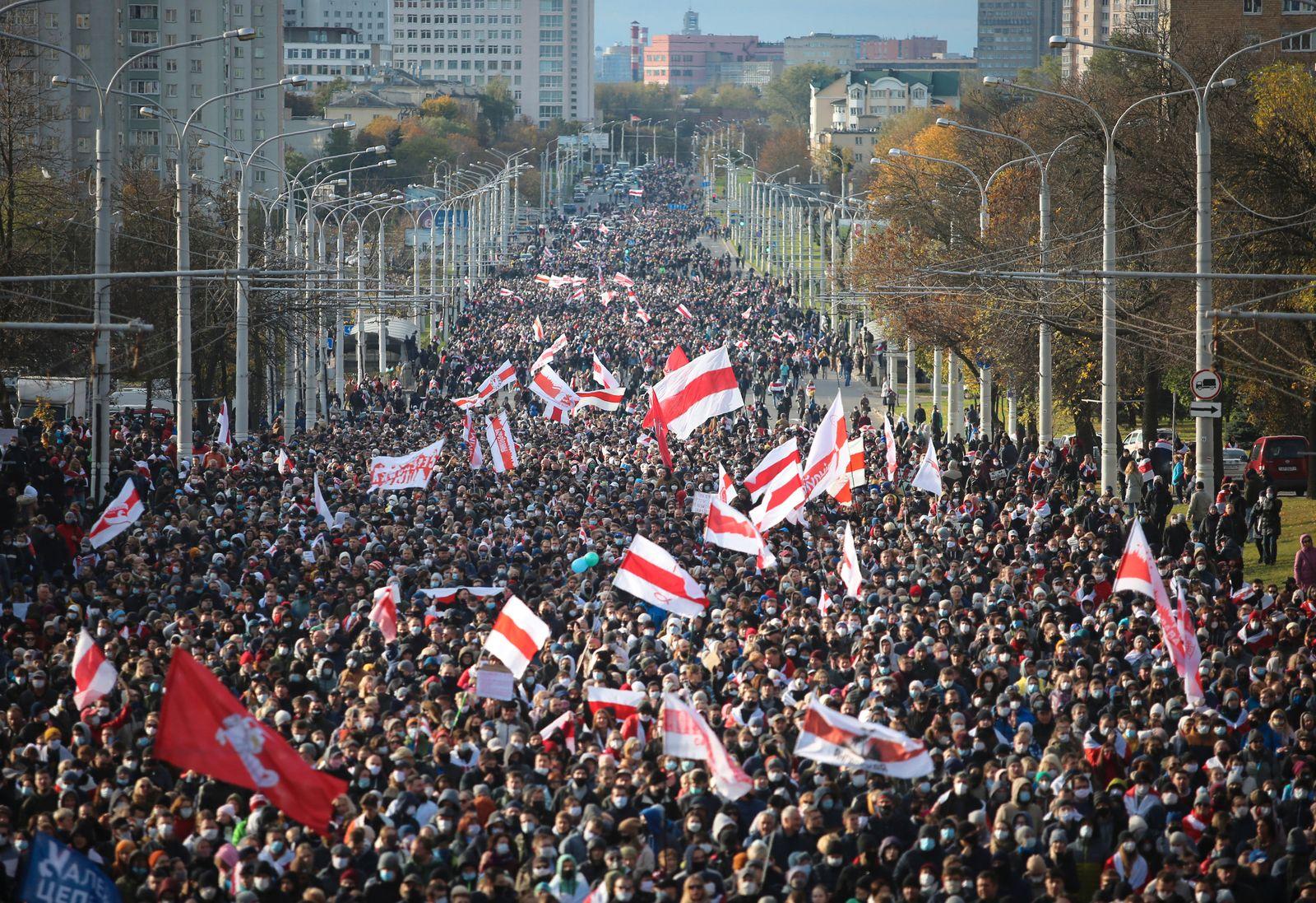 Proteste in Belarus