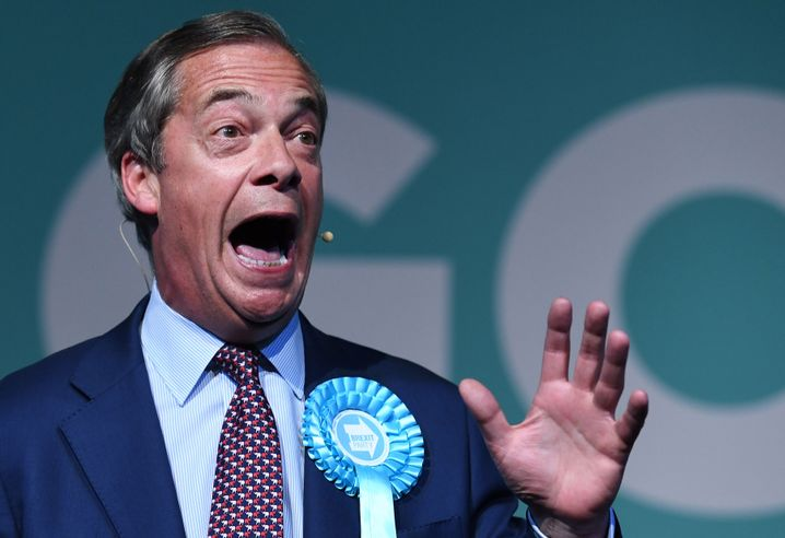 Rechtspopulist Nigel Farage