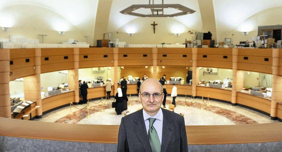 Vatikanbank-Chef Freyberg