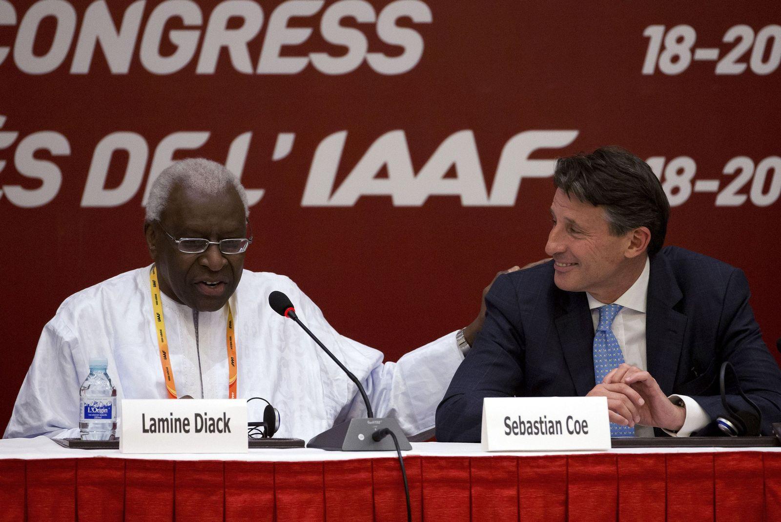 China Russia Doping Diack Investigated