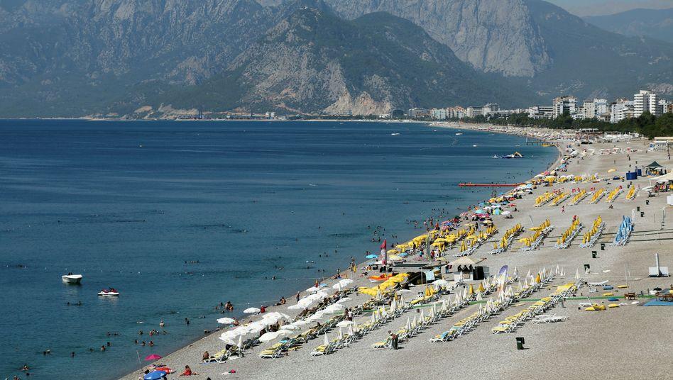 Wenig los an Antalyas Küste