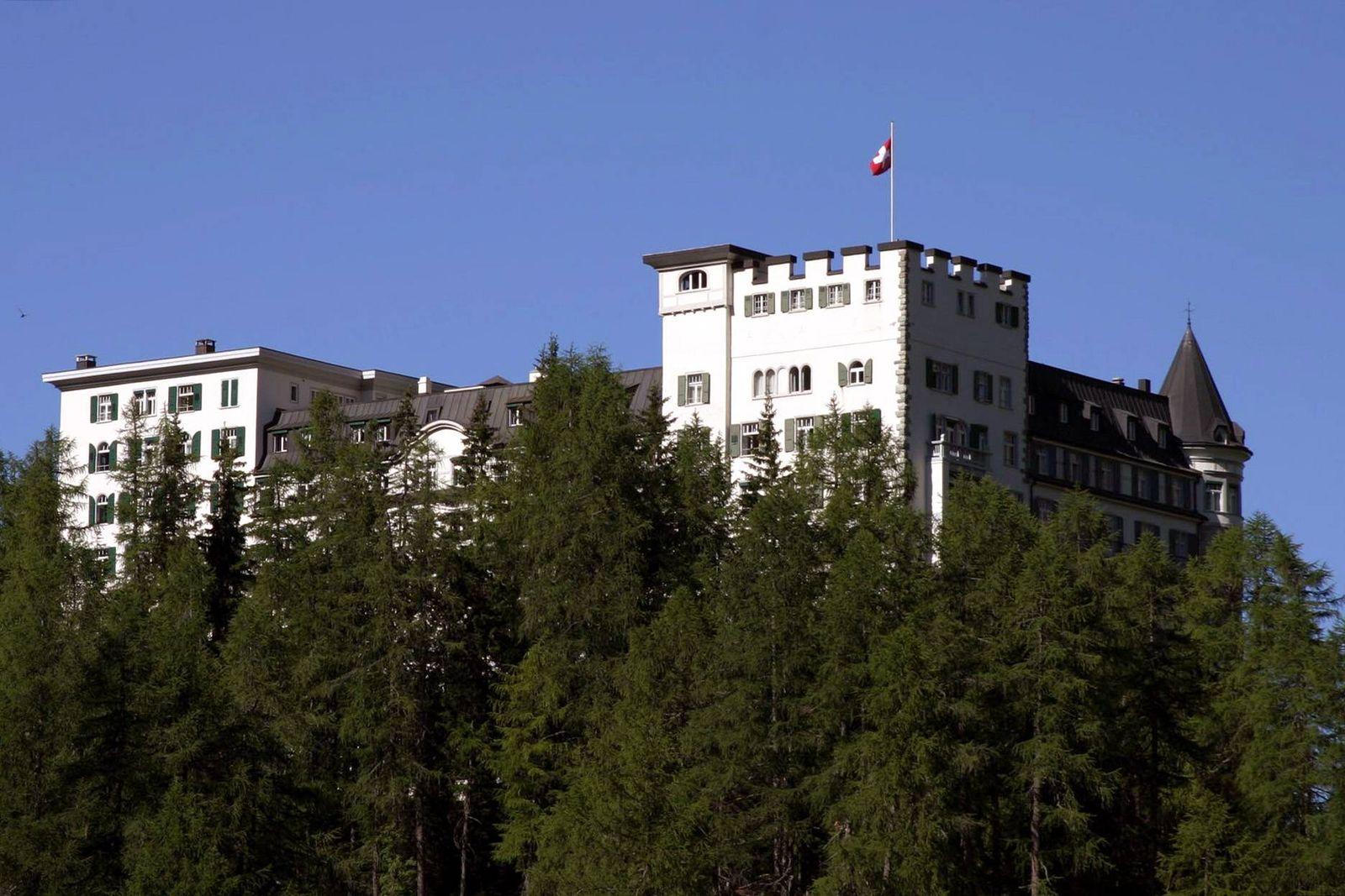 EINMALIGE VERWENDUNG Hotel Waldhaus Sils-Maria - Engadin